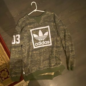 Like new mens XL Adidas sweater.